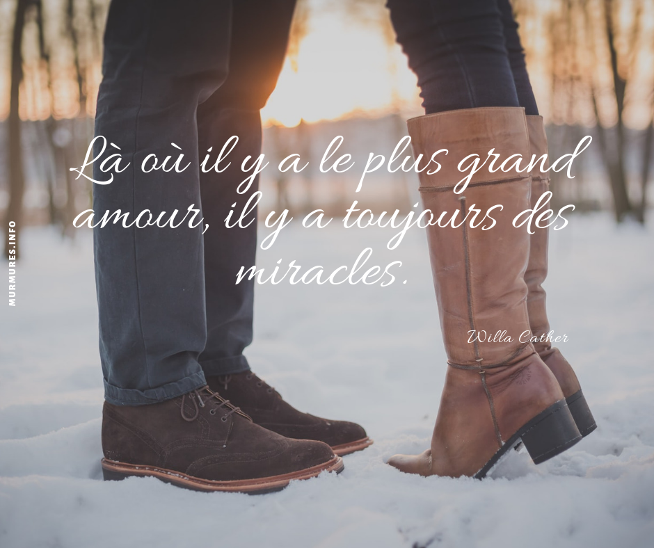 citation amour courte