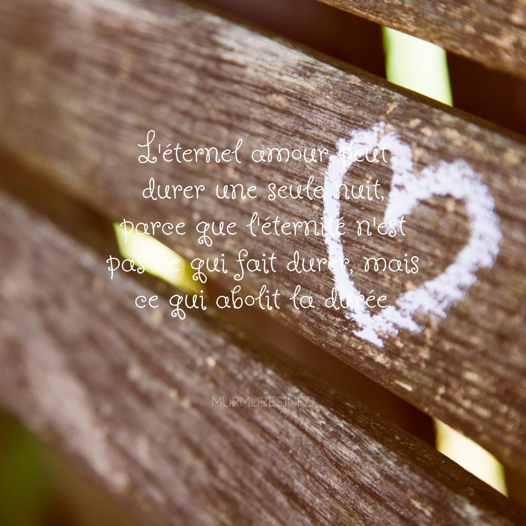 Citations amour éternel