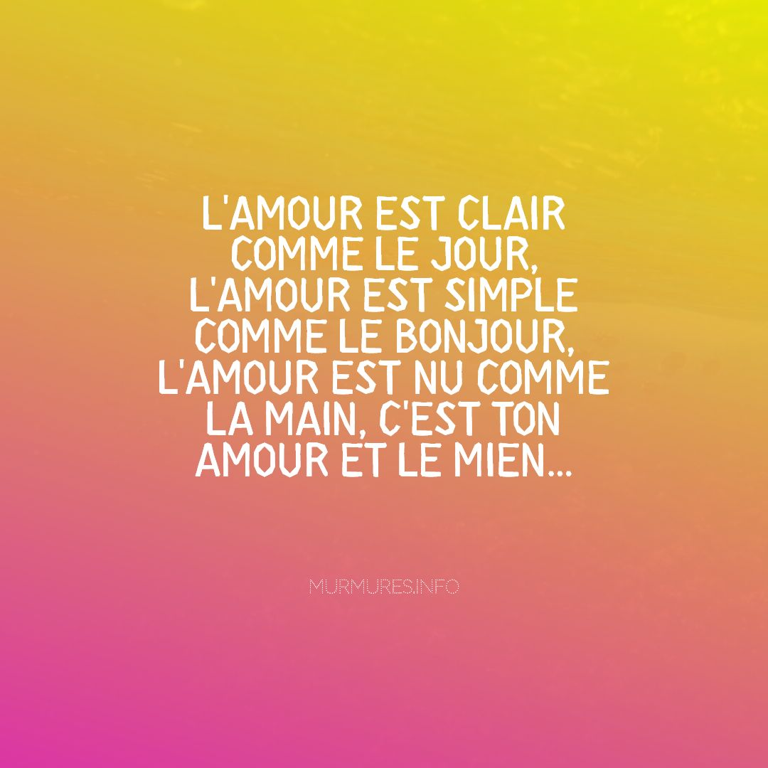 Citations amour distance