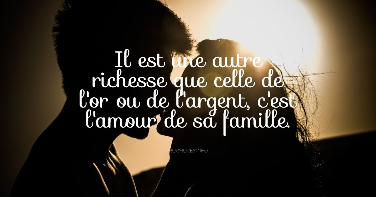 Citations amour famille