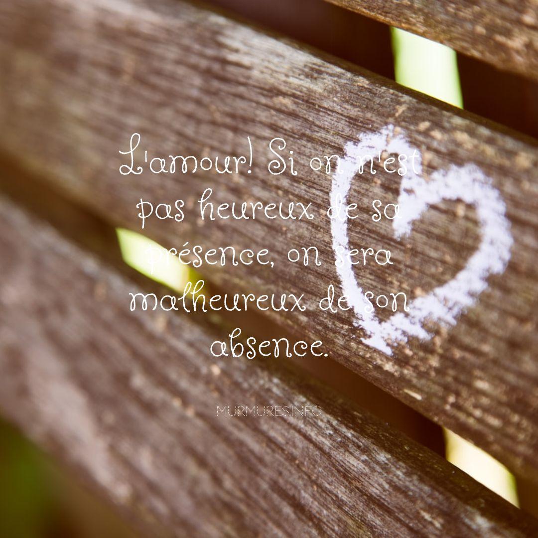 Citations amour heureux