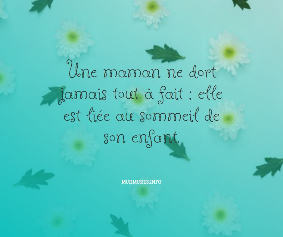 Citation amour maman